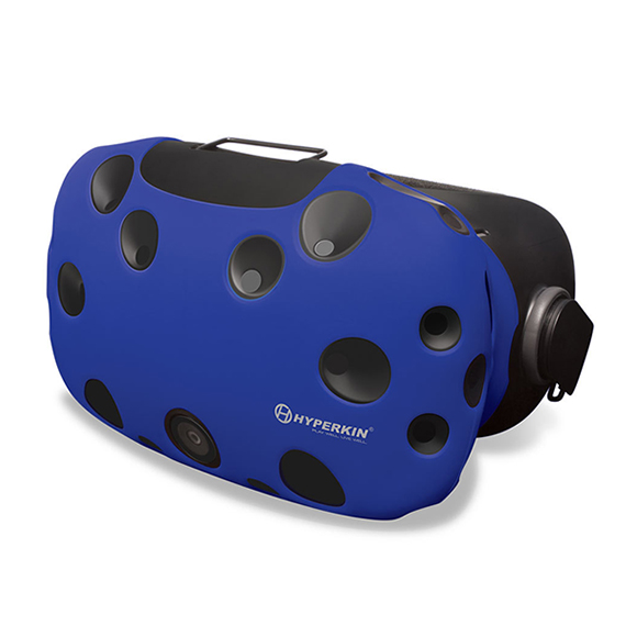 Чехол из силикона Hyperkin HTC Vive GelShell Head Mounted Display Silicone Skin (Blue))