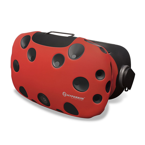 Чехол из силикона Hyperkin HTC Vive GelShell Head Mounted Display Silicone Skin (Red)